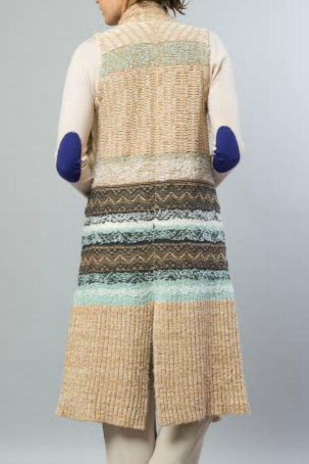 JOH Knit Sweater Vest - Front Full Image