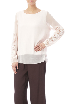 Shoptiques Product: Lace Sleeved Top