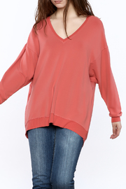 JOH Oversized Coral Sweatshirt - Product Mini Image