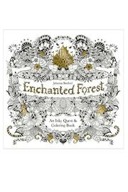 Johanna Basford Enchanted Forest Coloring-Book - Product Mini Image