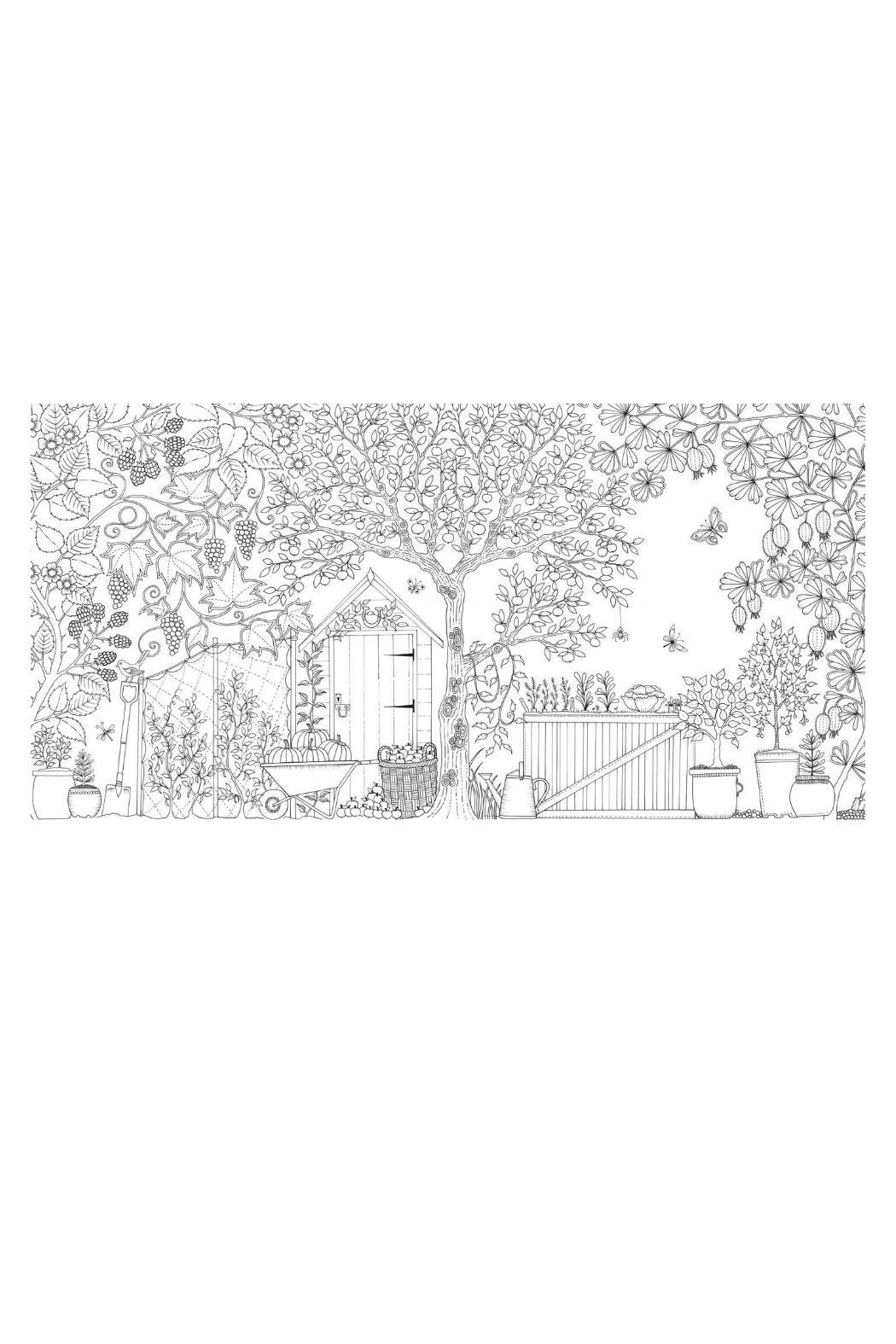Johanna Basford Secret Garden Coloring Book From