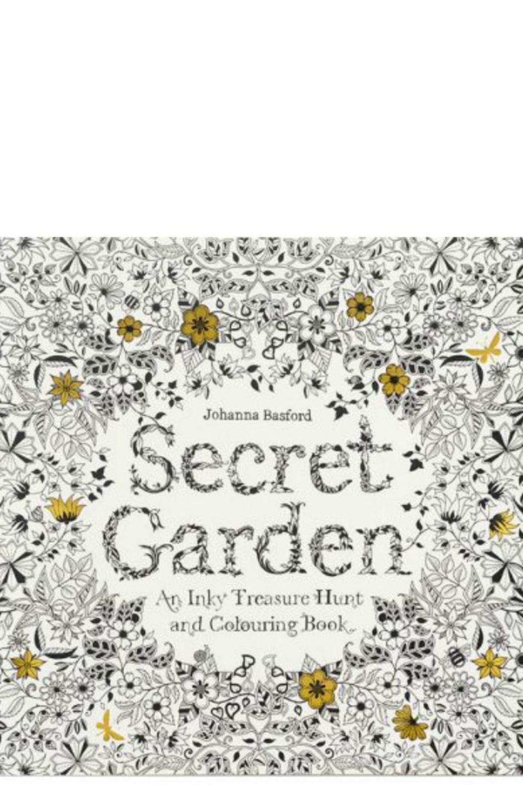 Johanna Basford Secret Garden Coloring Book