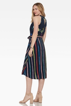 Ecru Johansson Halter Dress - Alternate List Image