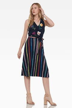 Ecru Johansson Halter Dress - Product List Image