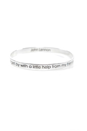 Shoptiques Product: John Lennon Inspiration Bangle