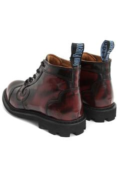 John Fluevog Burgundy Derby Boot - Alternate List Image