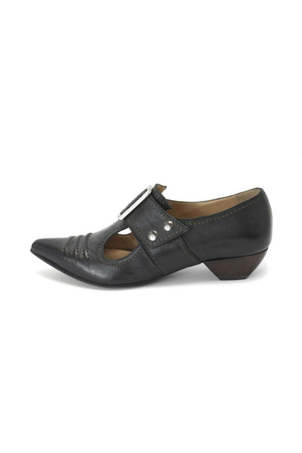 John Fluevog Pilgrim Bronze Shoes - Main Image