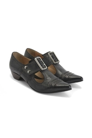 John Fluevog Pilgrim Bronze Shoes - Side cropped