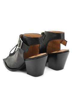 John Fluevog Rockafellah Black Heel - Alternate List Image