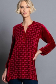 John Mark Velvet Tunic - Product Mini Image