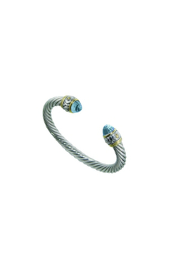 JOHN MEDEIROS Cable Stone Bracelet - Alternate List Image