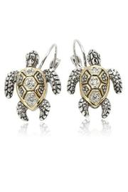 JOHN MEDEIROS Turtle Clip Earrings - Product Mini Image