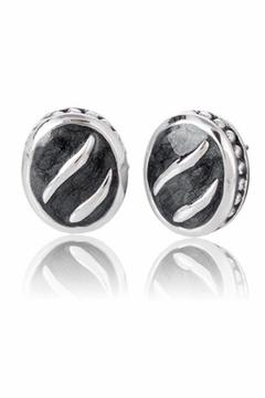 Shoptiques Product: Oval Post Earrings