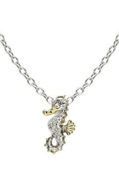 JOHN MEDEIROS Seahorse Pave Necklace - Product List Image