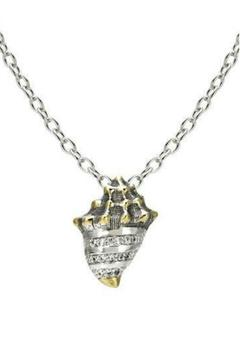 JOHN MEDEIROS Seashell Pave Necklace - Alternate List Image