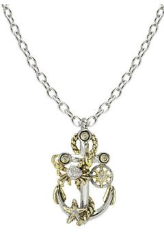 JOHN MEDEIROS Seaside Treasure-Anchor Necklace - Product List Image