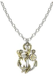 JOHN MEDEIROS Seaside Treasure-Anchor Necklace - Product Mini Image