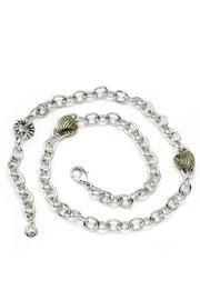 John Mederios Seashell Charm Necklace - Front cropped