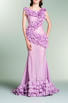 John Paul Ataker Cap Sleeve Gown - Product List Image