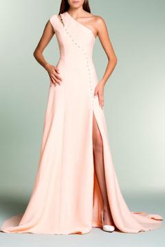 John Paul Ataker One Shoulder Gown - Alternate List Image