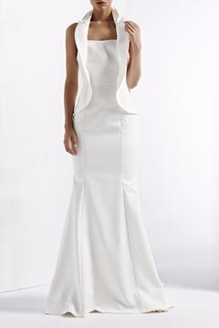 Shoptiques Product: Sleeveless Chapel Gown