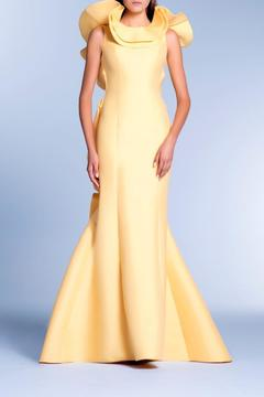 John Paul Ataker Sleeveless Ruffled Gown - Product List Image