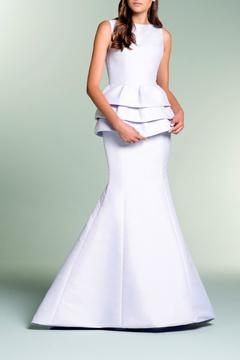 John Paul Ataker Sleeveless Tafetta Gown - Product List Image