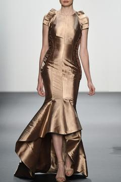 John Paul Ataker Sleeveless Taffeta Gown - Product List Image
