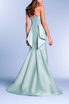John Paul Ataker Strapless Taffeta Gown - Alternate List Image