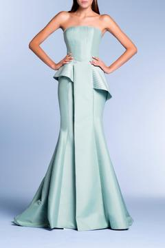 John Paul Ataker Strapless Taffeta Gown - Product List Image