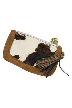 John Wind Maximal Art Calf Hair Tassel Clutch - Alternate List Image