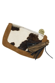 John Wind Maximal Art Calf Hair Tassel Clutch - Product Mini Image