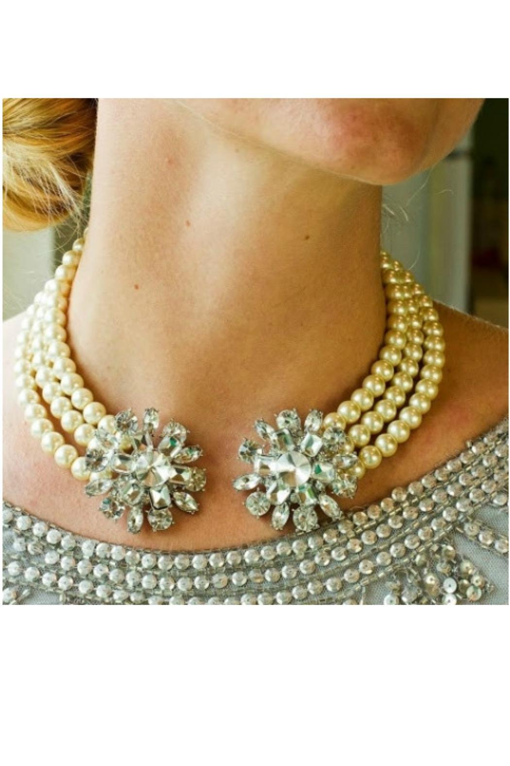John Wind Maximal Art Crystal Collar Necklace - Front Full Image