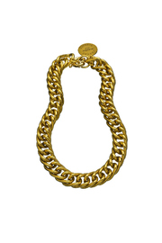 John Wind Maximal Art Curb Link Necklace - Product Mini Image