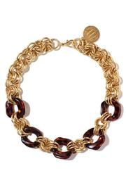 John Wind Maximal Art Gold Tortoise Necklace - Product Mini Image
