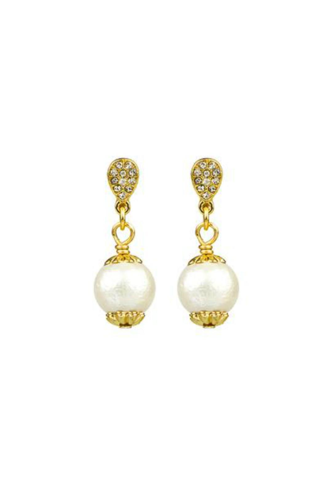 John Wind Maximal Art Cotton Pearl Earrings - Front Cropped Image