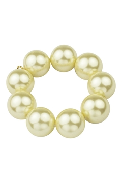 John Wind Maximal Art Pearl Stretch Bauble Bracelet - Product List Image