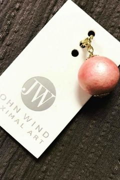John Wind Maximal Art Pink Pearl Charm - Alternate List Image