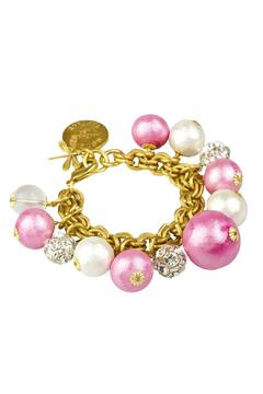 Shoptiques Product: Pink Pearl Collector's Bracelet