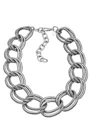 John Wind Maximal Art Silver Grande-Link Necklace - Product Mini Image