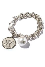 John Wind Maximal Art Sorority Gal Initial Bracelet - Front full body