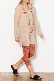 Johnny Was Eyelet Garden Tunic - Side cropped