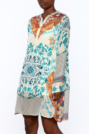Shoptiques Product: Handkerchief Print Dress - main