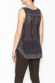 Johnny Was Hoxie Eyelet Tank - Back cropped