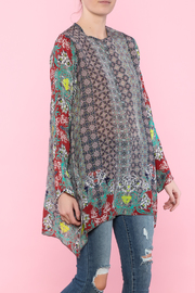 Johnny Was Loose Flair Tunic - Product Mini Image