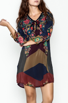 Johnny Was Tie Front Tunic Dress - Product List Image