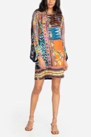 Johnny Was Luna Flare Dress - Front cropped