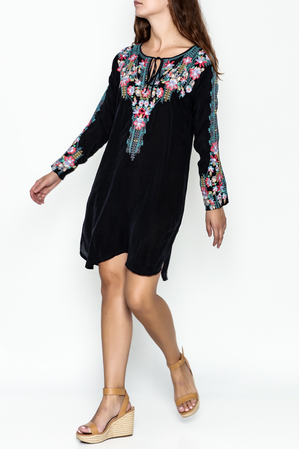 Johnny Was Tanyah Dress - Side Cropped Image