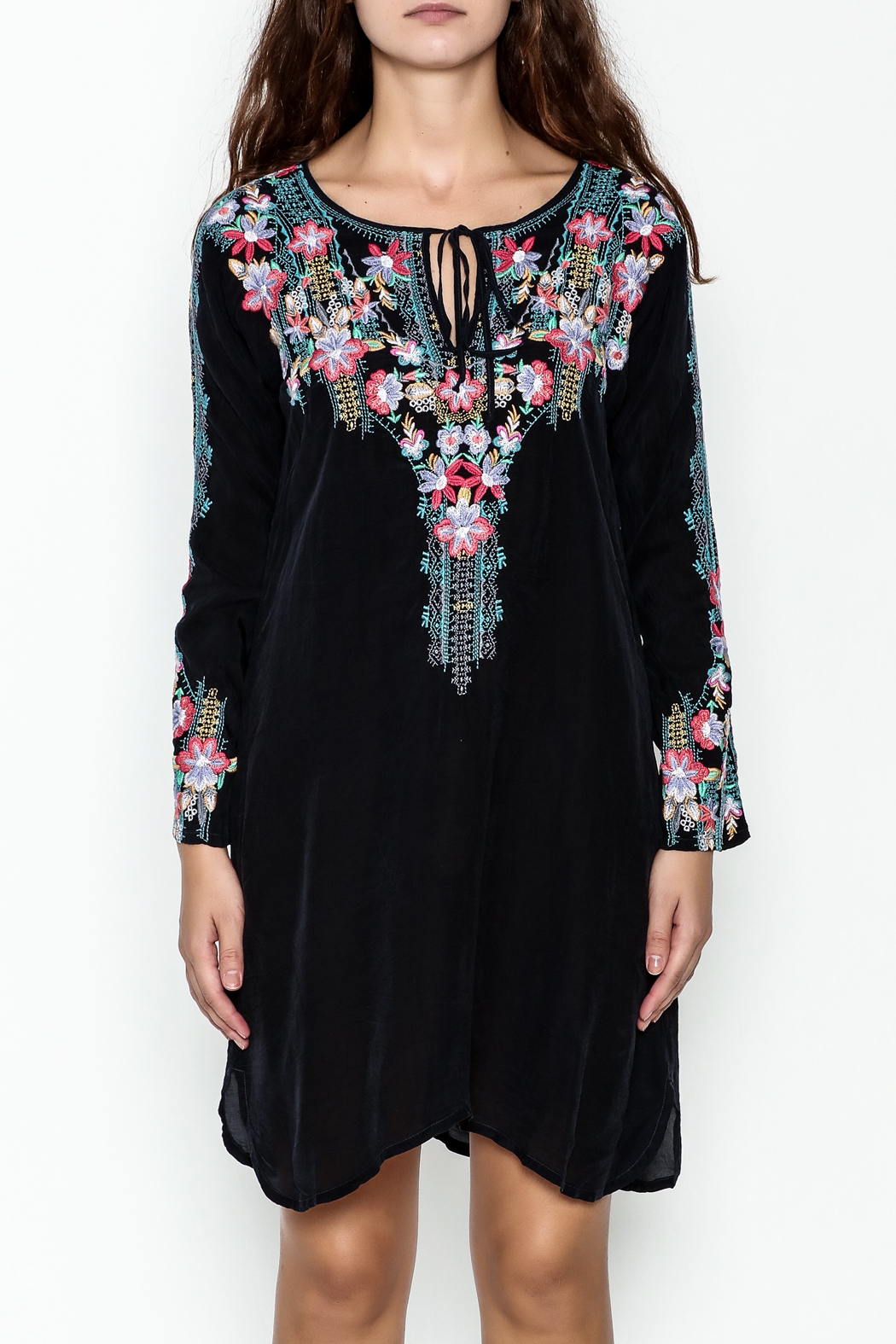 Johnny Was Tanyah Dress - Front Full Image