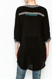 Johnny Was Zivelly Embroidered Tunic - Back cropped